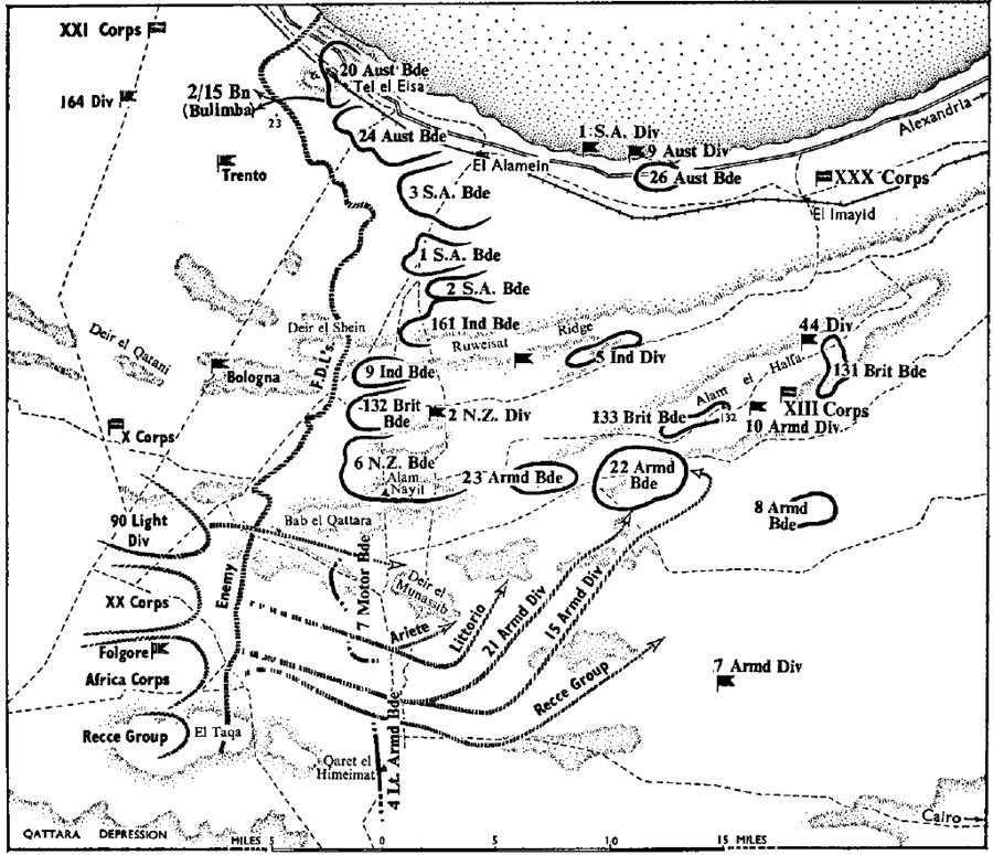 Australia Army 3 Tobruk Alamein Chapter 13 Alam El Halfa And Bulimba