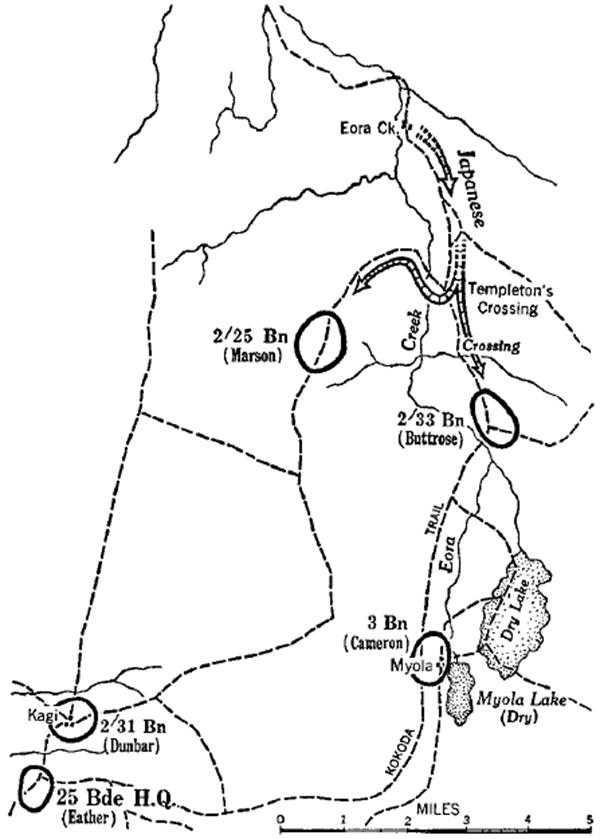 Australia Army 5 Kokoda To Wau Chapter 8 To Templetons Crossing