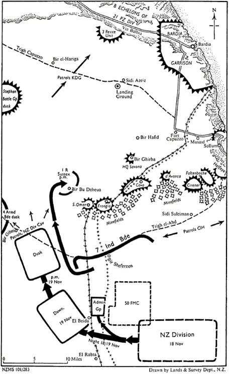 Nz Oh 03 Relief Of Tobruk Chapter 8 The Frontier Operations Begin