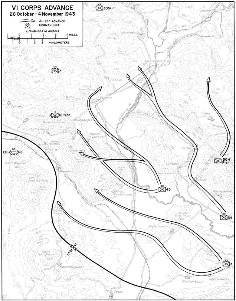 Us Army Mto 03 Salerno To Cassino Chapter 13 Into The Winter Line