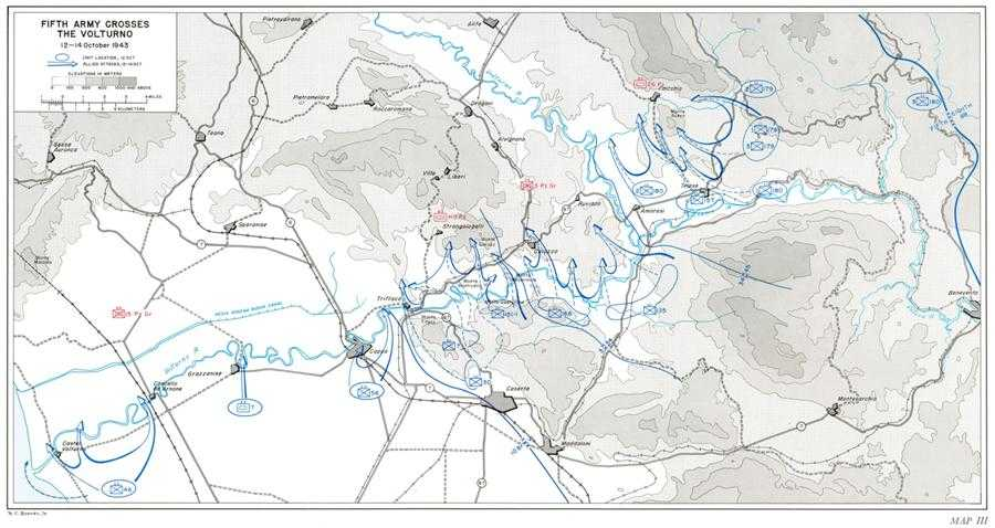 US Army MTO Salerno To Cassino Maps - Us army travel map