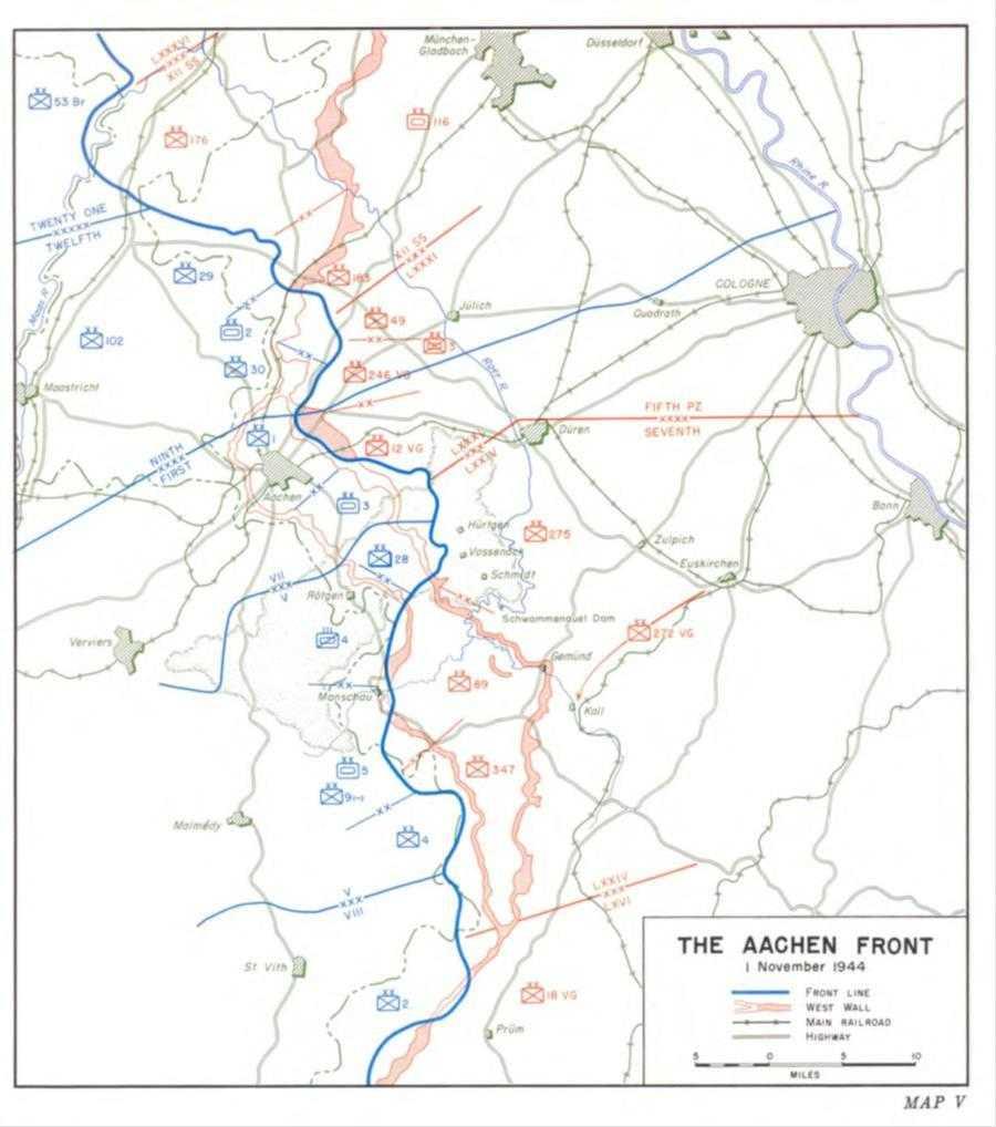 US Army SS 07 Three Battles Maps